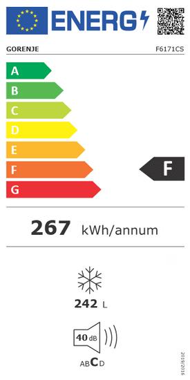 Gorenje mrazák F6171CS