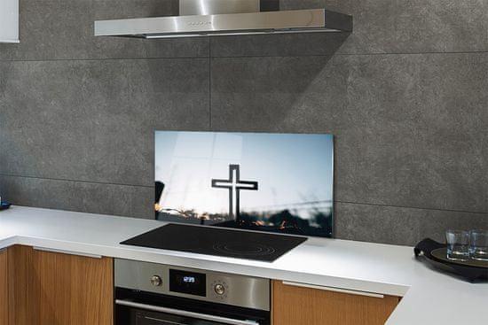 tulup.si Stenska plošča za kuhinjo Cross