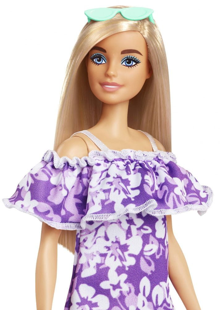 Mattel Barbie Loves the Ocean panenka s fialovými šaty