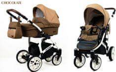 Sun Baby wózek spacerowy 3w1 Raf-pol Optimal chocolate