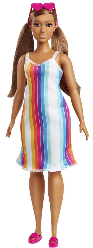 Mattel Barbie Loves the Ocean panenka s duhovými šaty
