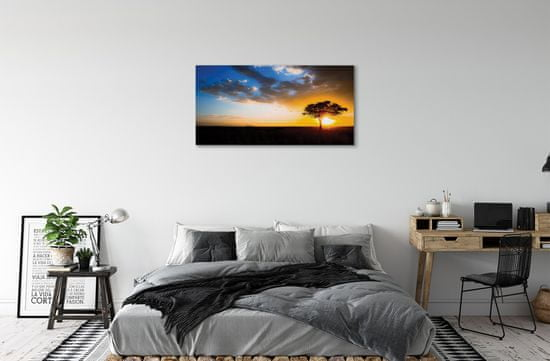 tulup.sk Obraz canvas mraky strom
