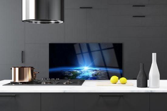 tulup.si Stenska plošča za kuhinjo Vesolje abstrakcija