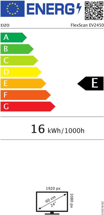 Eizo FlexScan EV2450-BK (EV2450-BK)