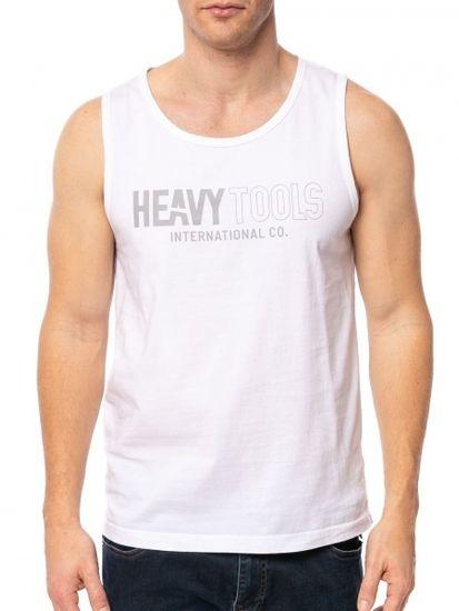 Heavy Tools Pánské tílko Bulldog21 white C6S21240WH