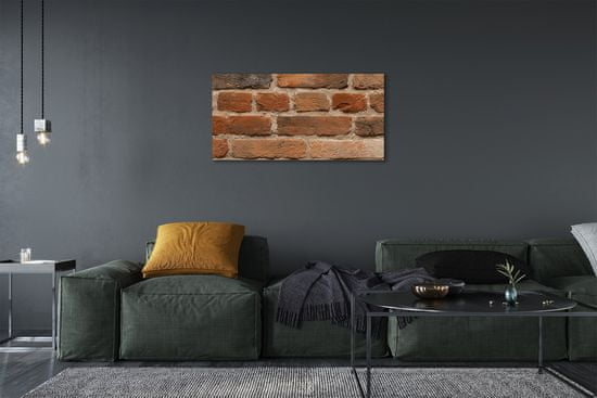 tulup.cz Obraz canvas Tehlová múr kamenná 120x60cm