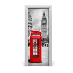 tulup.hu Ajtómatrica London, Anglia 95x205cm