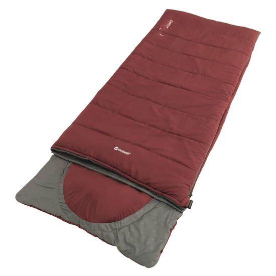 Outwell vreća za spavanje Contour Lux, crvena