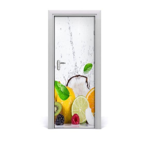 tulup.sk Fototapeta na dvere do domu samolepiace Ovocie