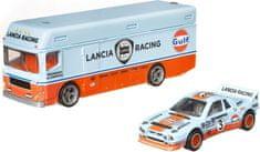 Hot Wheels Vontató és angol versenyautó Team Transport 26 - Lancia