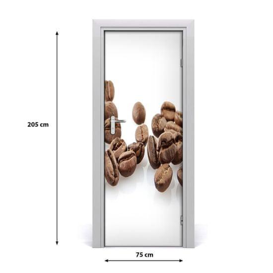 tulup.cz Fototapeta na dvere samolepiace Zrnká kávy 85x205cm