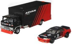 Hot Wheels Vontató és angol versenyautó Team Transport 27 - Nissan