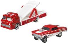 Hot Wheels Team Transport 28 – Ford tovorno vozilo in angleški dirkalnik