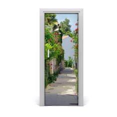 tulup.hu Poszter tapéta ajtóra francia utcákon 75x205cm