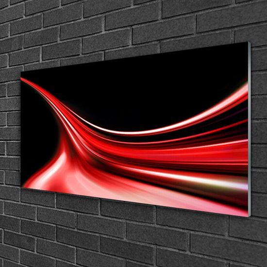 tulup.hu Üvegkép Abstract Art Lines