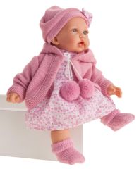 Antonio Juan 1222 Petit realistická panenka se zvuky a měkkým látkovým tělem