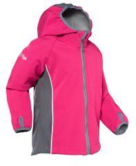 good2go dívčí softshellová bunda G2G17 80 růžová