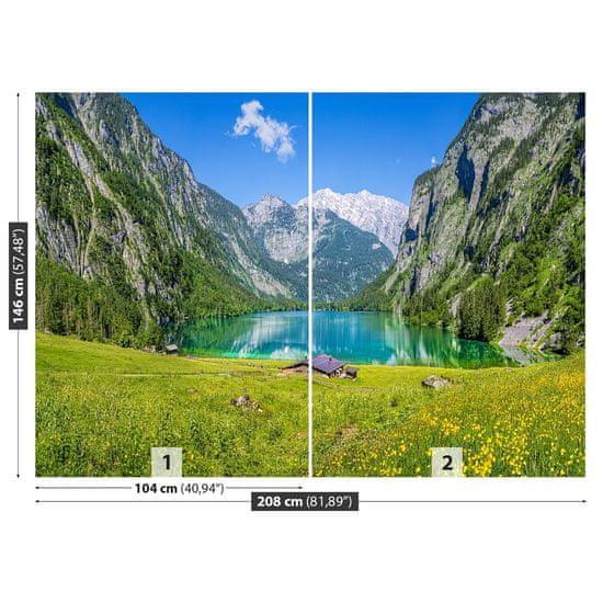tulup.cz Fototapeta Samolepící Obersee königssee 208x146 cm
