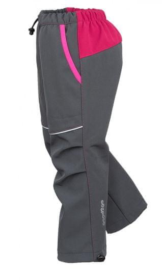 good2go dívčí softshellové kalhoty G2G19