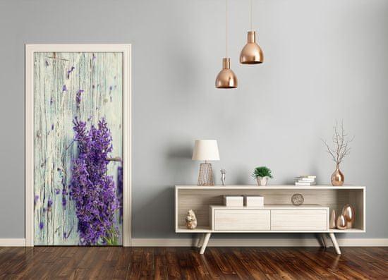 tulup.hu Ajtó tapéta Lavender fa