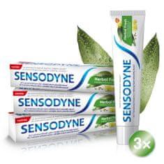 Sensodyne Herbal Fresh zubní pasta 3x 75ml