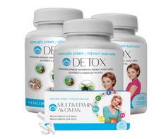 Novax 3x Detox 3x120 tobolek + zdarma vzorek Multivitamin - Woman 20 tobolek