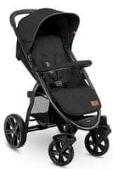 Lionelo ANNET PLUS športni voziček, Black Carbon