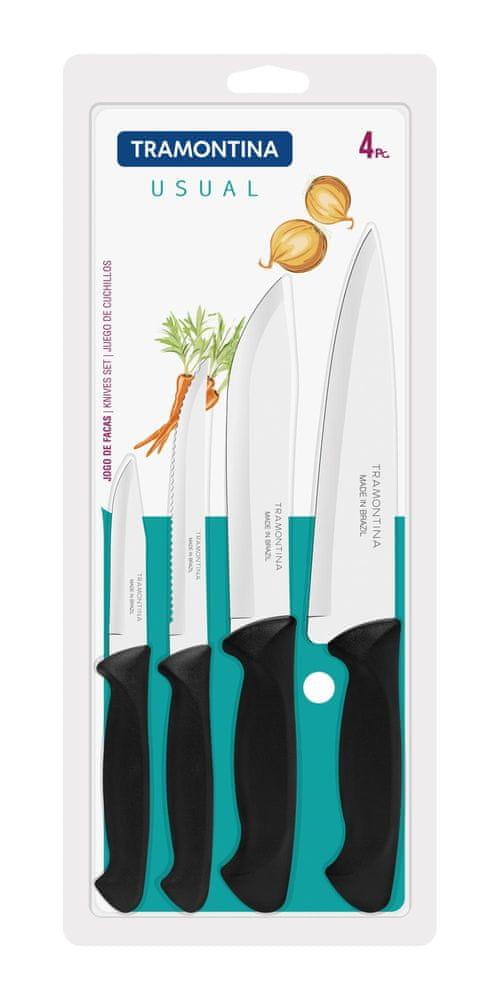 Tramontina USUAL kuchyňské nože 4 kusy