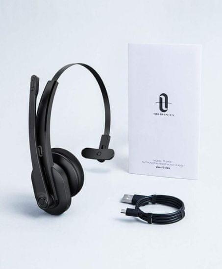 TaoTronics TT-BH041 Bluetooth naglavna slušalka, črna