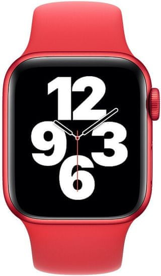 Apple Szíj a Watch Series-hez, sportos, 40mm MYAR2ZM/A, piros (PRODUCT RED)