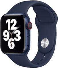 Apple řemínek pro Watch Series, sportovní, 40mm MYAU2ZM/A, tmavě modrá