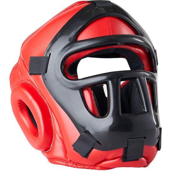 Blitz BLITZ Prilba s mrežou Grilled Head Guard - červená