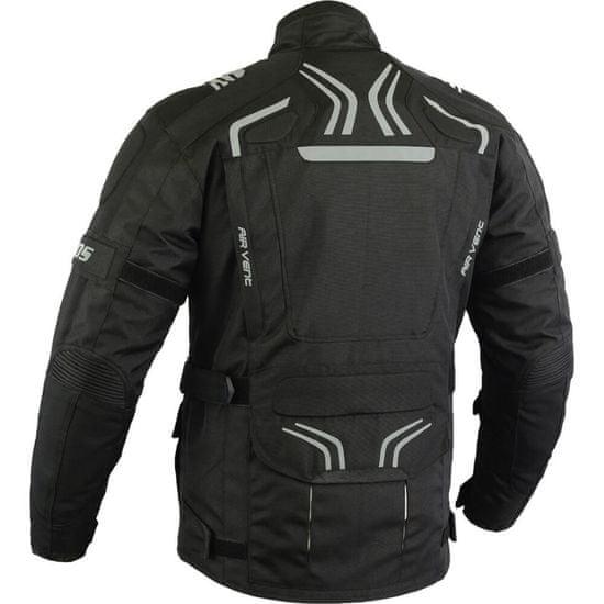 BOS Pánská touringová moto bunda BOS Temper Velikost: Barva černá, Velikost L