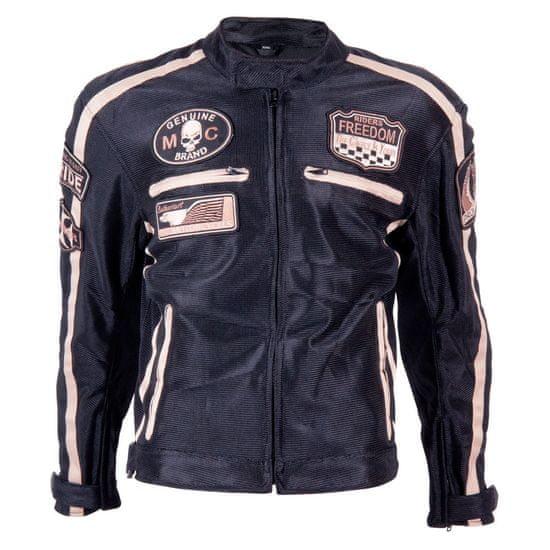 BOS Letní moto bunda BOS 6488 černá Velikost: Barva černá, Velikost S