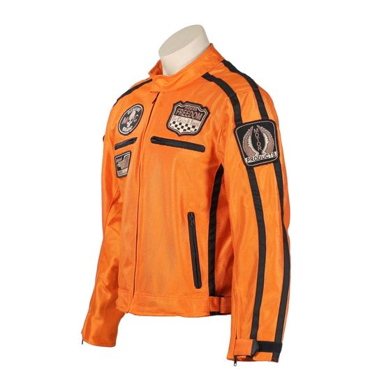 BOS Letní moto bunda BOS 6488 oranžová Velikost: Barva oranžová, Velikost L