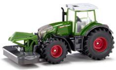 SIKU Farmer traktor Fendt 942 Vario s sprednjim nastavkom za rezanje