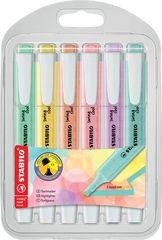 """Stabilo Zvýrazňovače """"Swing Cool Pastel"""", 4 barvy, 1-4 mm, 275/6-08"""