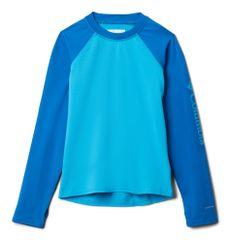 Columbia fantovska plavalna majica Sandy Shores Long Sleeve Sunguard 1833151417, XXS, modra