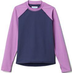 Columbia dekliška plavalna majica Sandy Shores Long Sleeve Sunguard 1833151471, XXS, vijolična