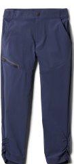 Columbia dekliške hlače Tech Trek Trousers 1887412467, S, temno modre