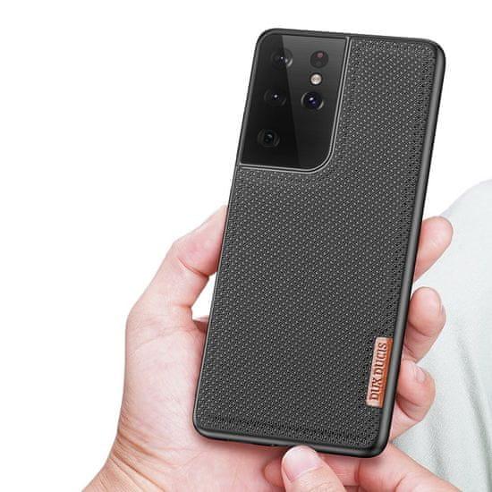 Dux Ducis Fino ovitek za Samsung Galaxy S21 Ultra 5G, črna