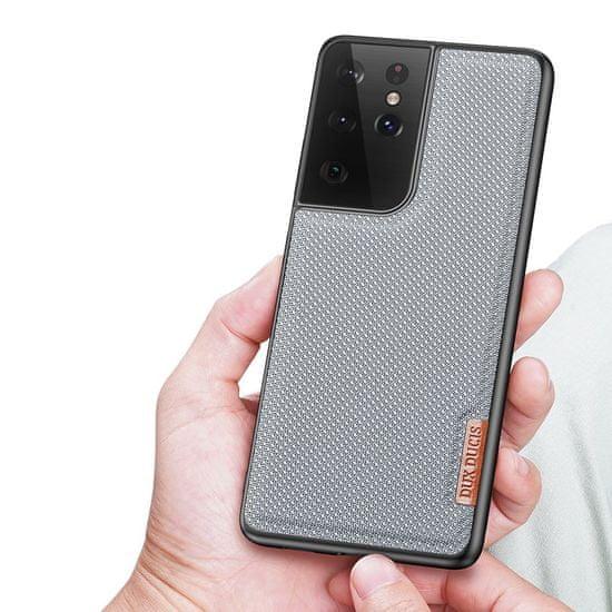 Dux Ducis Fino ovitek za Samsung Galaxy S21 Ultra 5G, modro