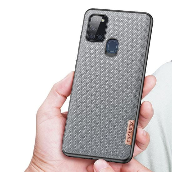 Dux Ducis Fino ovitek za Samsung Galaxy A21S, modro