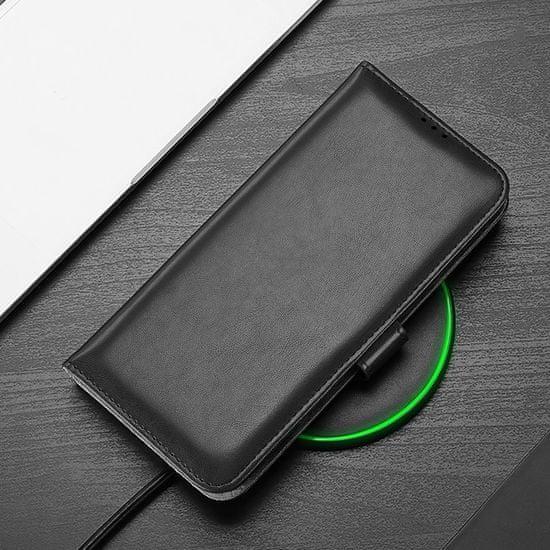 Dux Ducis Kado knjižni usnjeni ovitek za Samsung Galaxy Note 20 Ultra, črna