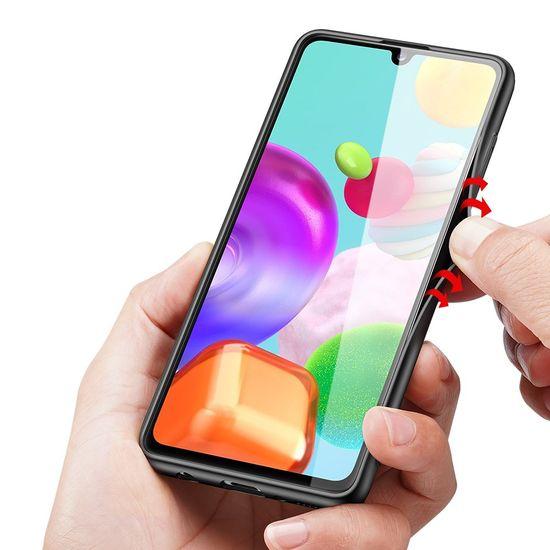Dux Ducis Fino tok Samsung Galaxy A41, fekete