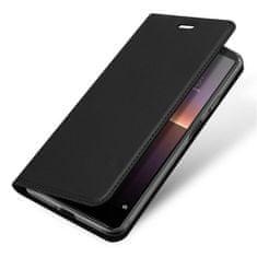 Dux Ducis Skin Pro knjižni usnjeni ovitek za Sony Xperia 10 II, črna