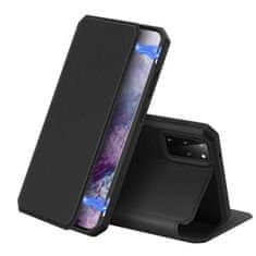 Dux Ducis Skin X knjižni usnjeni ovitek za Samsung Galaxy S20 Plus, črna