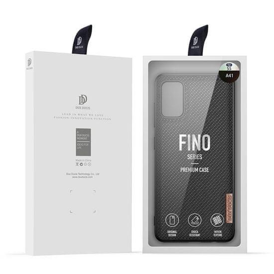 Dux Ducis Fino ovitek za Samsung Galaxy A41, črna