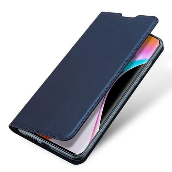 Dux Ducis Skin Pro knjižni usnjeni ovitek za Xiaomi Mi 10 Pro / Mi 10, modro