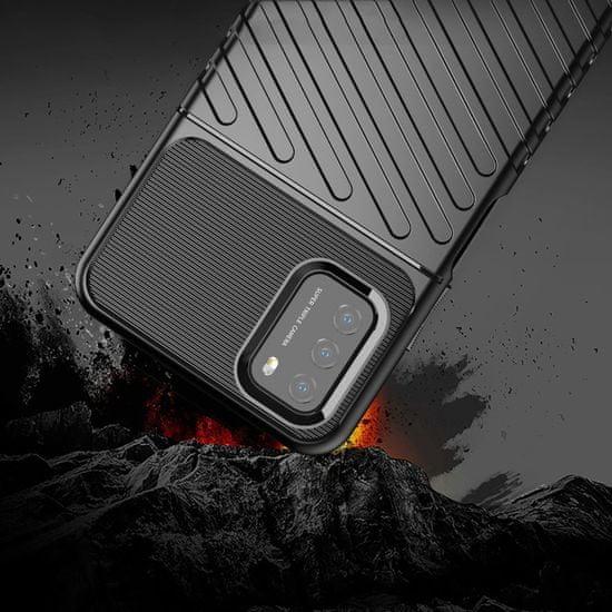 MG Thunder silikonski ovitek za Xiaomi Poco M3 / Redmi 9T, modro